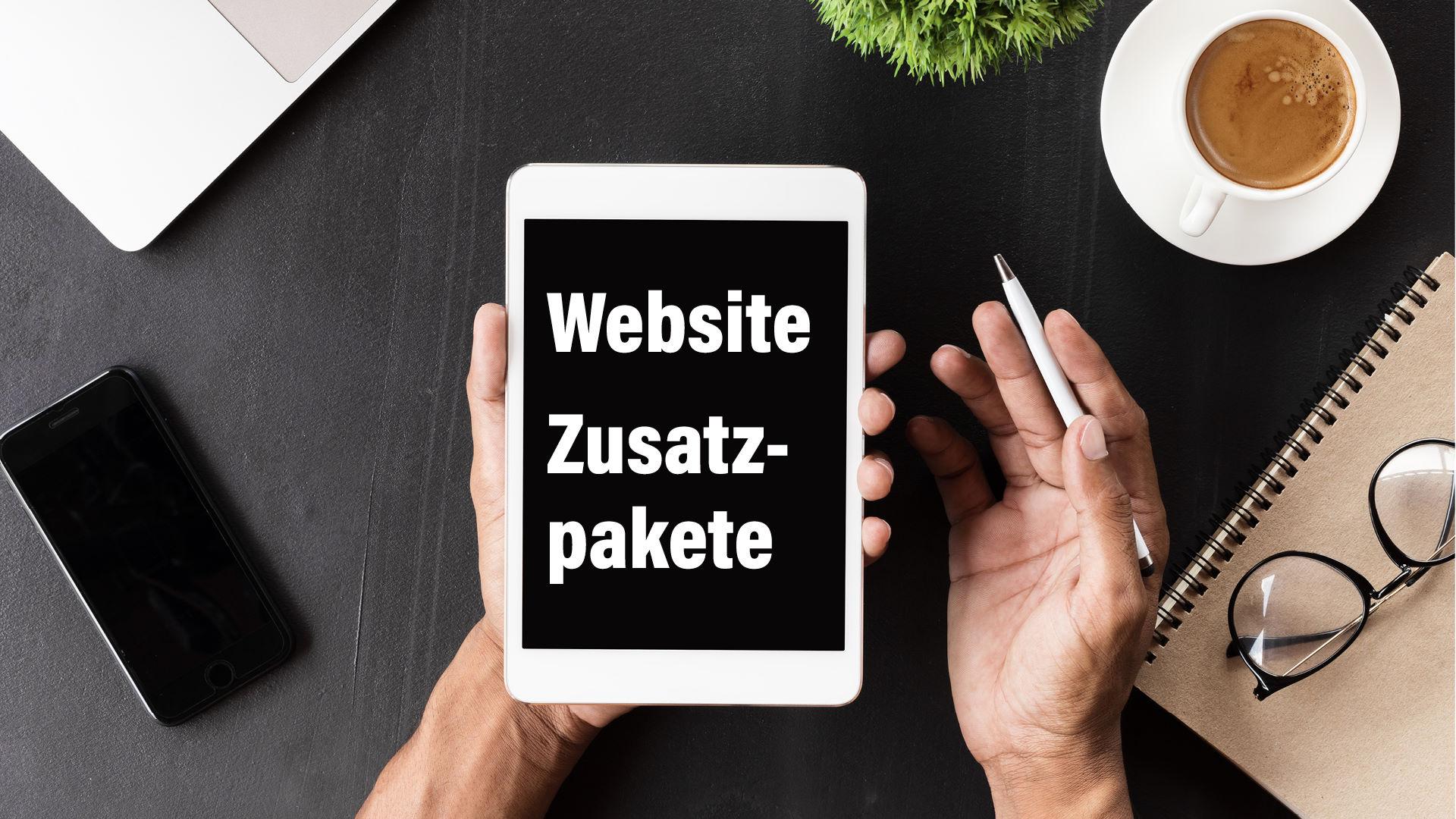 Website Zusatzpakete_Advertising Solution_Werbeagentur Bezirk Mödling